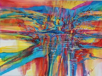 Navajo Reflections Original by Donna Pierce-Clark