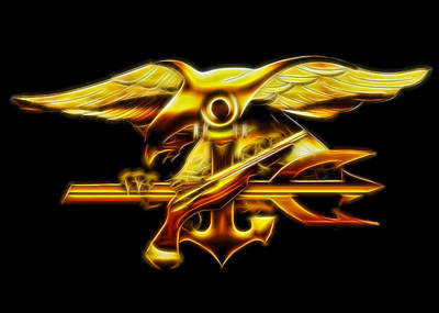 Digital Art - Navy Seals by Ricky Barnard
