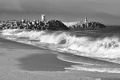 Photograph - Nazare Beach by Marek Stepan