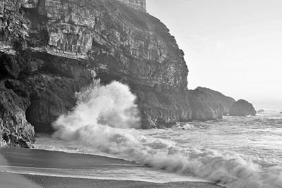 Photograph - Nazare North Beach by Marek Stepan
