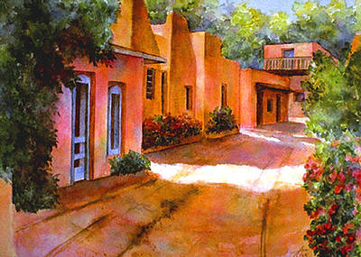 Painting - Near Canyon Road by Ann Peck