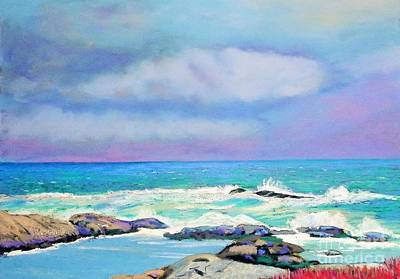 Pastel - Near Peggy's Cove by Rae  Smith PAC