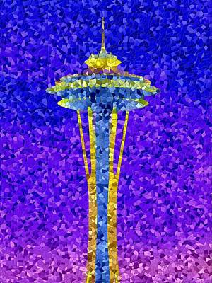 Photograph - Needle In Mosaic by Tim Allen