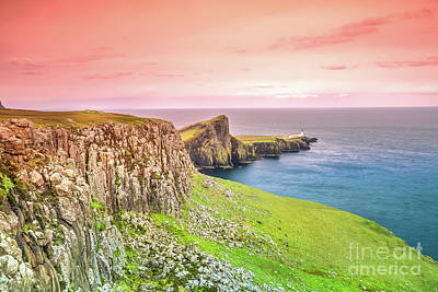 Photograph - Neist Point Lighthouse by Benny Marty