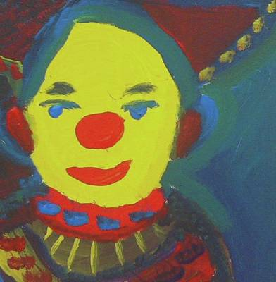 Painting - Nelly's Clown by Don Koester
