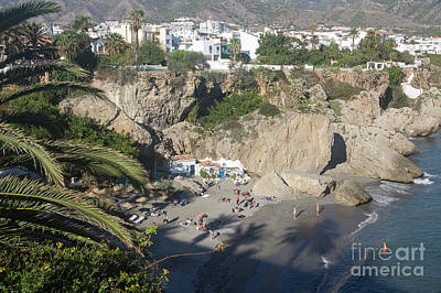 Photograph - Nerja by Rod Jones