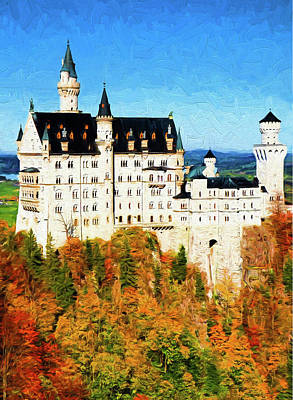 Photograph - Neuschwanstein Castle by Dennis Cox Photo Explorer