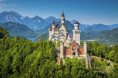 Photograph - Neuschwanstein Castle by JR Photography