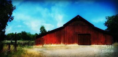 Photograph - Nevada Barn  by Bobbee Rickard