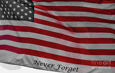 Photograph - Never Forget by Jim Lepard