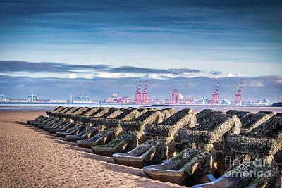 Photograph - New Brighton Beach  by Andrew White