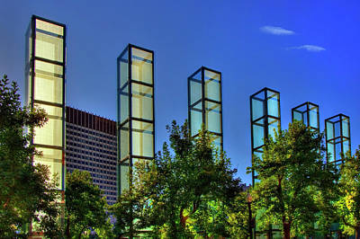 Photograph - New England Holocaust Memorial - Boston by Joann Vitali