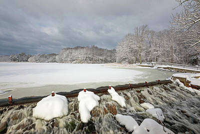 Photograph - New England Winter by Juergen Roth