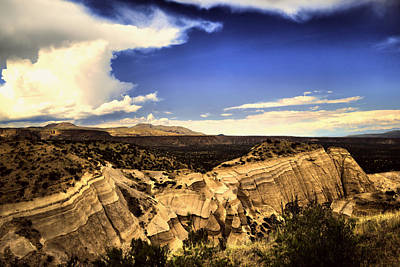 Photograph - New Mexico Landscape by Jeff Swan