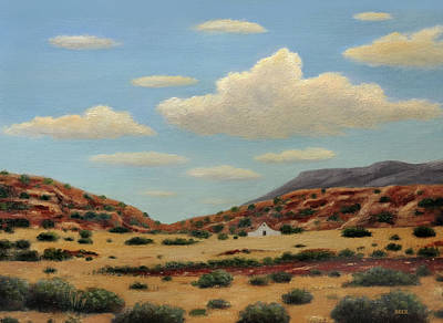 Painting - New Mexico Morning by Gordon Beck
