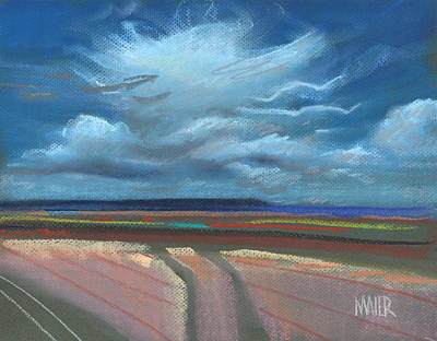 New Mexico Skyscape Original by Donald Maier