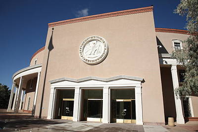 Photograph - New Mexico State Capitol by Frank Romeo