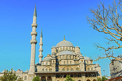 Photograph - New Mosque In Istanbul, Turkey by Marek Poplawski