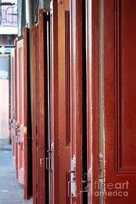Photograph - New Orleans Doors by Carol Groenen