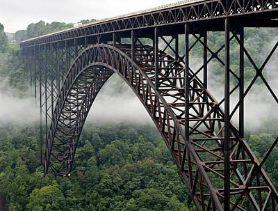 New River Gorge Bridge Photograph - New River Gorge Bridge West Virginia by Brendan Reals