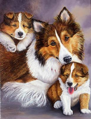 Painting - Devoted Love by Kelly Pedersen