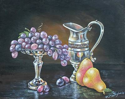 Painting - Fruit N Silver by Kimberly Blaylock