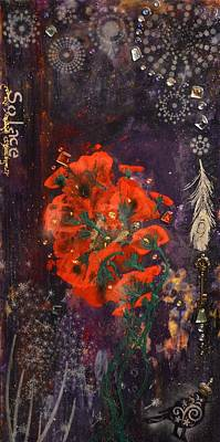 Mixed Media - Solace by MiMi  Stirn