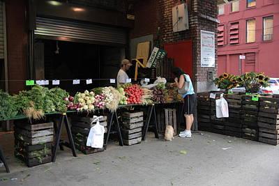 Buy Dog Art Photograph - New York City Market by Frank Romeo