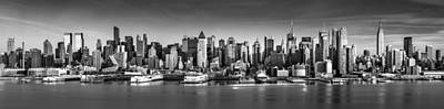 Skylines Royalty-Free and Rights-Managed Images - New York City panorama by Mihai Andritoiu