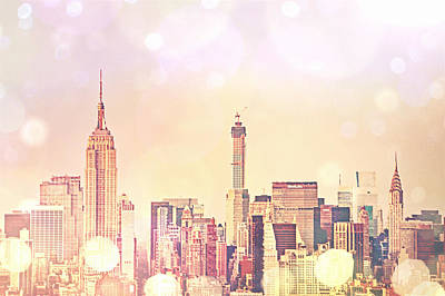 Empire State Photograph - New York City - Skyline by Vivienne Gucwa