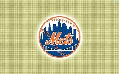 New York Mets Digital Art - New York Mets by Dorothy Binder