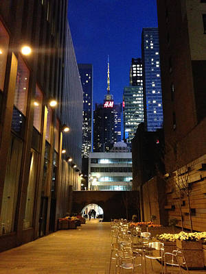 Photograph - New York Night by Helen Haw
