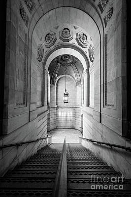 Library Photograph - New York Public Library by Inge Johnsson