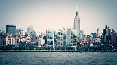 New York City Photograph - New York Skyline by Alexander Voss