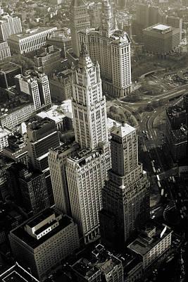 New York Woolworth Building - Vintage Photo Art Print Print by Art America Online Gallery