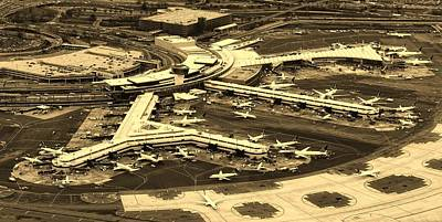 Photograph - Newark Liberty International Airport by Unsplash - Nicolas Jehly