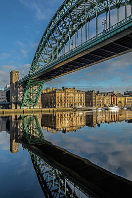Photograph - Newcastle City Marina by David Pringle