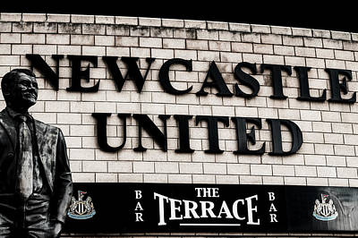 Photograph - Newcastle United by Garry Petts