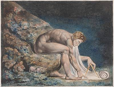 Newton Painting - Newton by William Blake