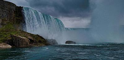 Power Trip Photograph - Niagara Falls by Martin Newman