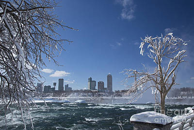 Photograph - Niagara Falls Ontario by Jim West