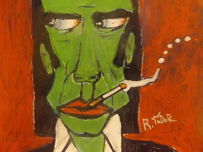 Nick Cave Painting - Nick Cave by Rob  Tudor