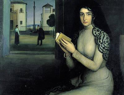 Painting - Nieves by Julio Romero de Torres
