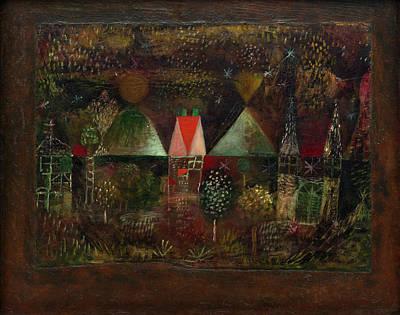 Nonrepresentational Painting - Night Feast by Paul Klee