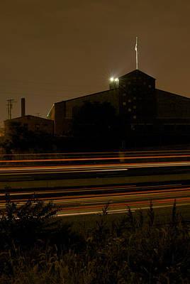 Night Highway Print by Chris Brewington Photography LLC