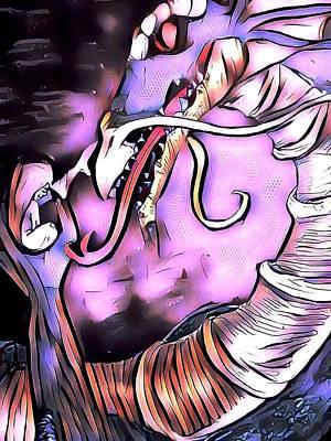 Night Of The Dragon Art Print