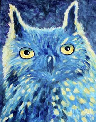 Painting - Night Owl by Melinda Etzold