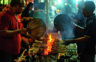 Photograph - Night Satay II by Nisah Cheatham