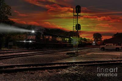 Photograph - Night Shift by Rick Lipscomb