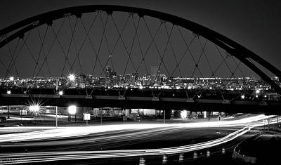 Photograph - Night Span by Kevin Munro
